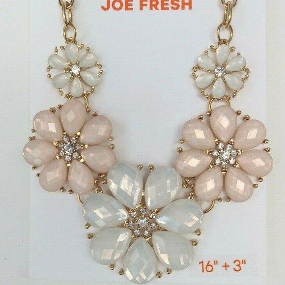 Joe Fresh Gold Tone Chunky Necklace